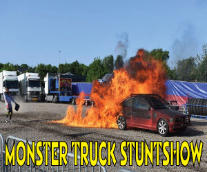 Monster Truck Show team Klaas turnerer i Jylland nu